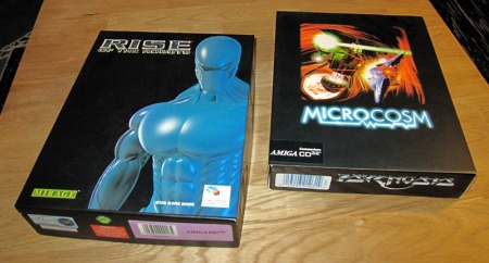 Rise of the Robots and Microcosm for Amiga CD32