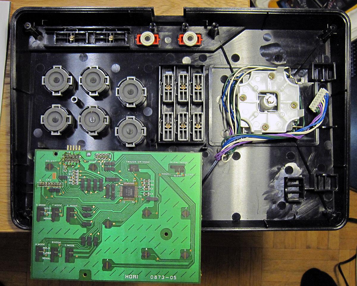 Sega Saturn DIY Virtua Stick | ilesj's blog