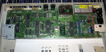 C64 C with new motherboard