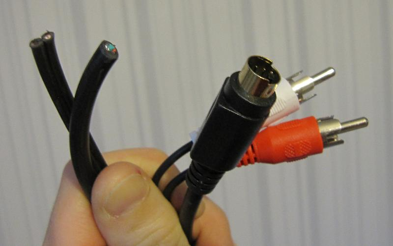 C64 S Video cable ndash the easy way and with no SCART