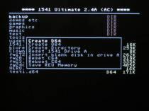 1541U file browser menu
