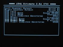 1541U2 audio settings