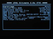 1541U2 C64 and cartridge settings