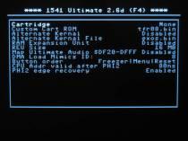 1541U2 C64 and cartridge settings