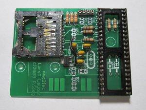 MMC2IEC step04 board populated sans xtal