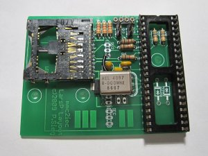 MMC2IEC step06 board populated