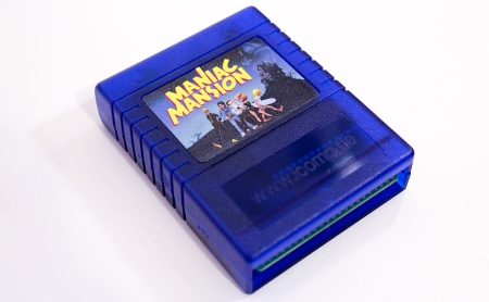 Maniac Mansion bootleg cartridge