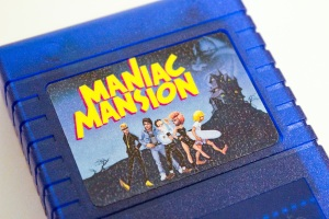 To be honest, the most time I spent editing the Maniac Mansion cover artwork to fit the cartridge label. You know, the original box art is portrait...