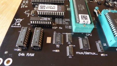 C64R RAM ROM VSP fix