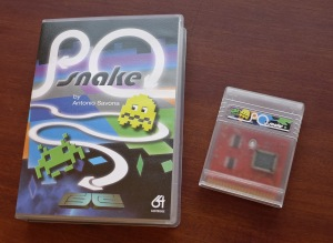 P0 Snake deluxe case and cartridge