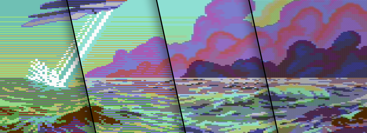 Graphics with old C64 colors and how to view them | ilesj's blog