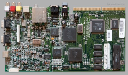 Commodore Amiga CD32 motherboard